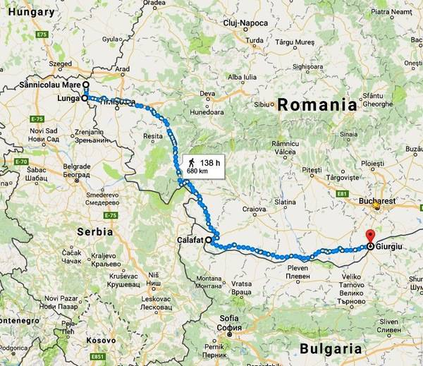 Noua Rută A Imigranţilor Prin Romania Harta Pe Unde Refugiaţii