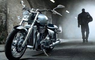 O motocicletă sub piele
