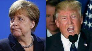 Merkel despre Trump