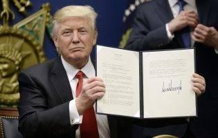America  la o săptămână cu Trump