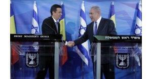 Sorin Grindeanu și Benjamin Netanyahu