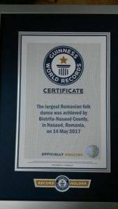 Certificat Cartea Recordurilor Q Magazine