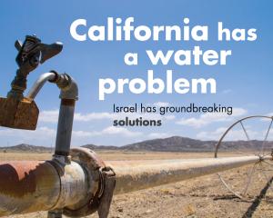 Israelul irigă California
