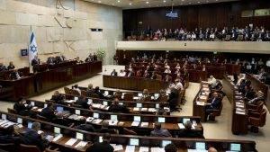 """Knessetul (כנסת, """"adunare"""" în limba ebraică) este Parlamentul unicameral al statului Israel și se află la Ierusalim."""