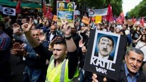 Proteste împotriva lui Erdogan Q Magazine