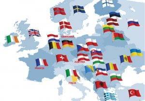 Harta țărilor unde se fac eforturi pentru a crește rata de vaccinare, exclusiv în Q Magazine