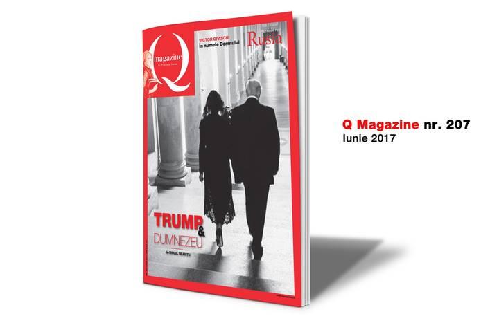 Melania si Donald Trump, la Vatican Q Magazine