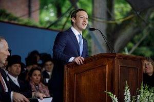 Mark Zuckerberg discurs. la Harvard