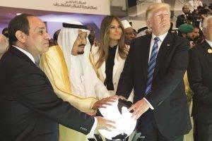Donald Trump şi Regele Salman Q Magazine