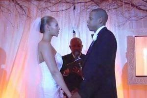Beyonce si Jay Z, nunta ca in povesti Q Magazine