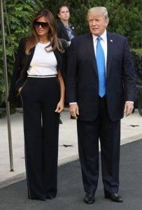 Melania Trump și Donald Trump, Q Magazine
