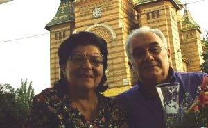 Tiberiu Ceia și soția sa, Q Magazine