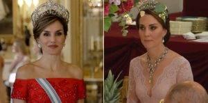 Ducesa de Cambridge și Regina Letizia, la Palatul Buckingham, Q Magazine