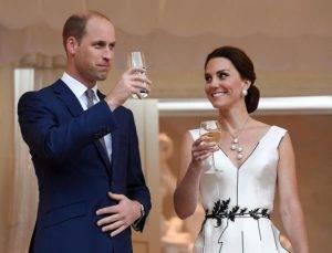 Cuplul regal al Marii Britanii, la Varsovia Q Magazine