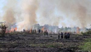 Incendiu groapa de gunoi Glina, Q Magazine