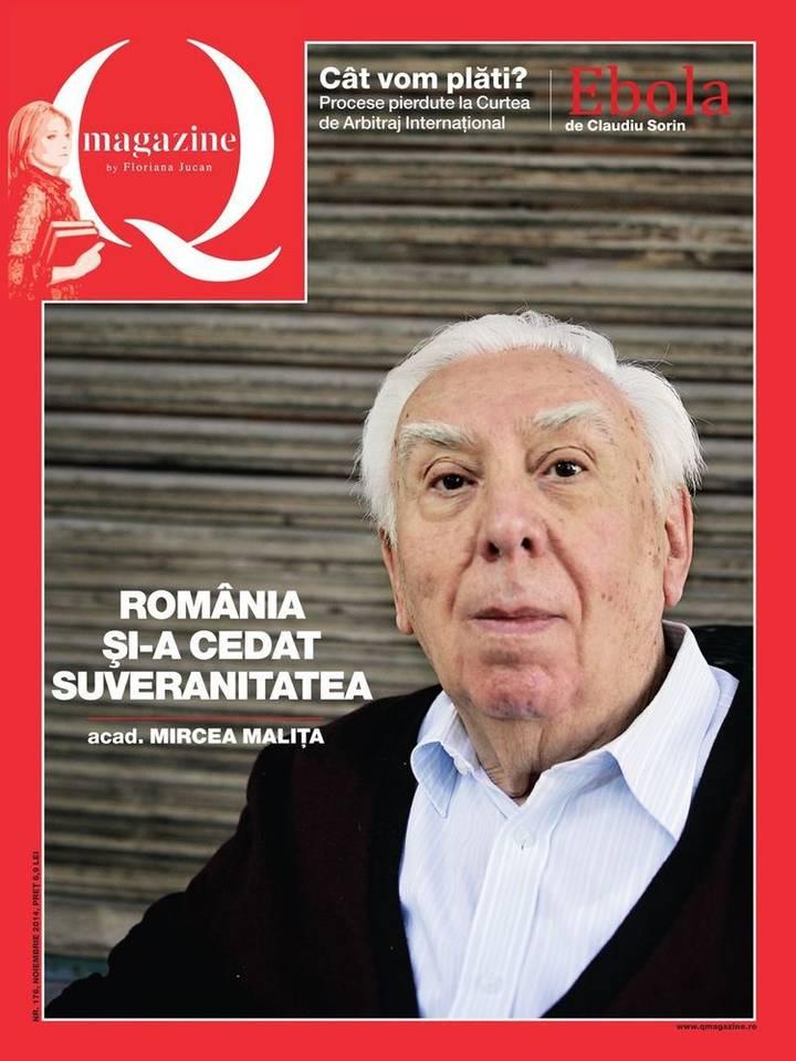 Mircea Malita q magazine cover