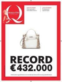Cea mai scumpă geantă din lume, 432.000 euro