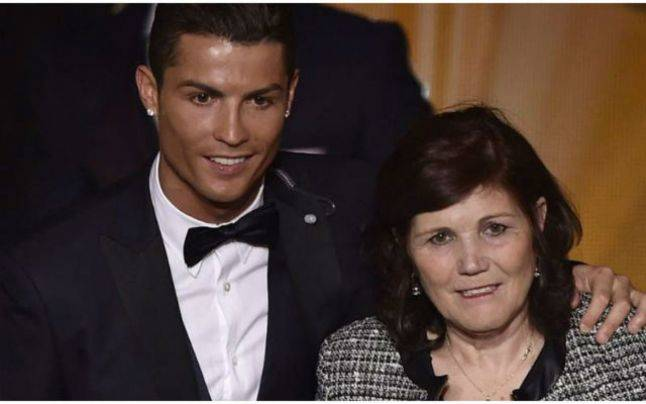 ronaldo si mama lui q magazine