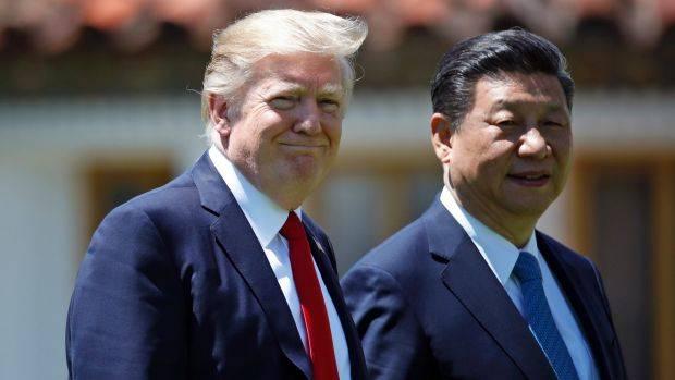 Xi Jinping si Donald Trump