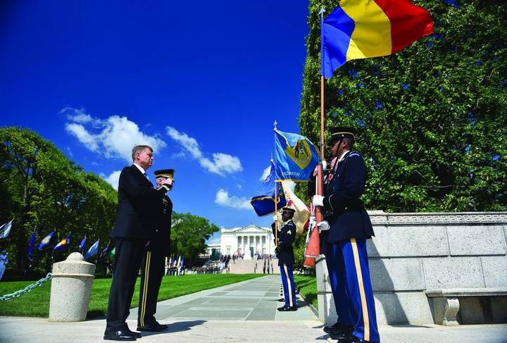 iohannis onor arlington iunie 2018 sursa presidency