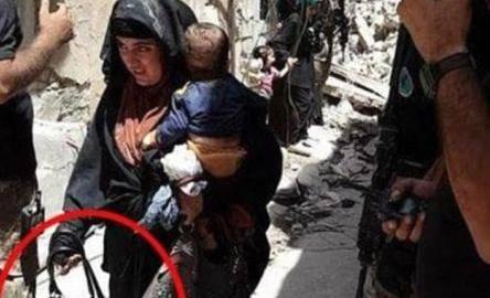 Miresele jihadiste din Irak. O femeie-kamikaze a detonat o bombă în timp ce ținea în brațe un bebeluș
