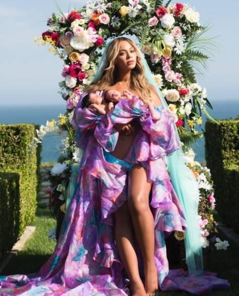 Beyonce, fotografie cu gemenii Q Magazine