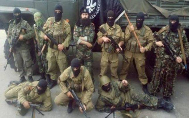 Bratislav Zivkovic (rândul de sus, mijloc) a participat la conflictul din Crimea, de partea forţelor ruse