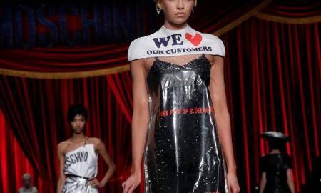 moschino dress Q Magazine