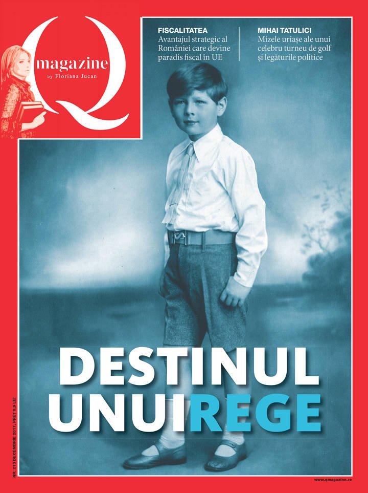 coperta Q Magazine Destinul unui rege