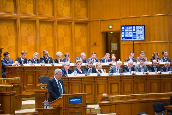 Învestirea în Parlament a Guvernului Tudose – 29 iunie 2017