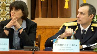 Laura Codruta Kovesi si Generalul Florian Coldea, Q Magazine