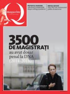 3500 de magistraţi au avut dosar penal la DNA – COVERSTORY – QMAGAZINE