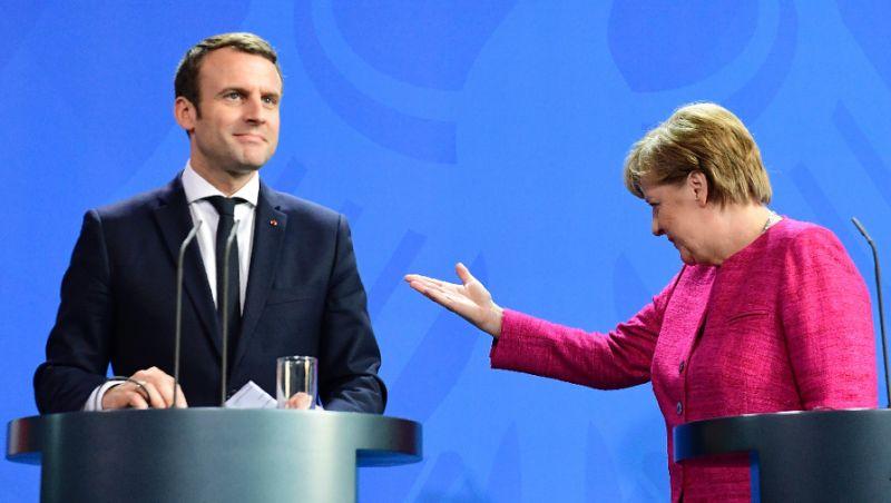 Plecarea lui Merkel deschide poarta ambițiilor europene ale lui Macron