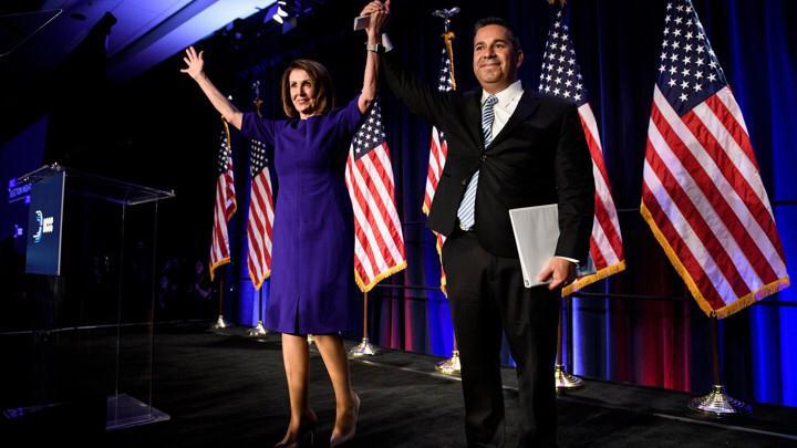 Nancy Pelosi, foto by Brendan Smialowski