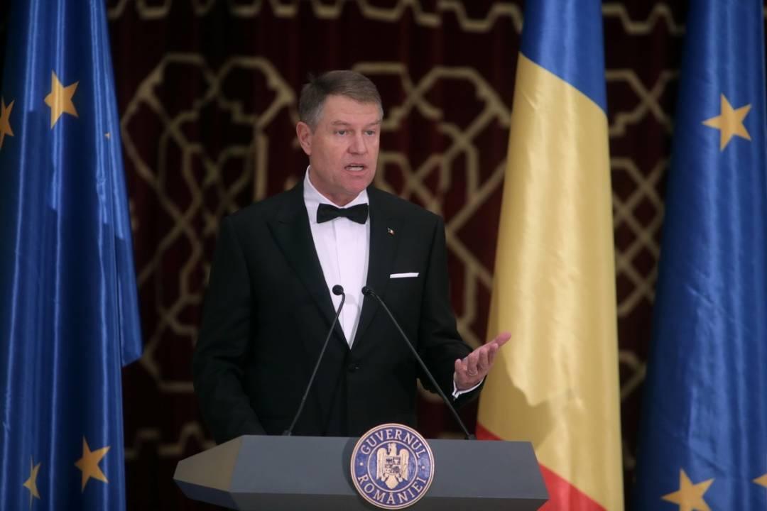 Ceremonia oficială de lansare a Președinției României la Consiliul Uniunii Europene-Iohannis-Guv.ro