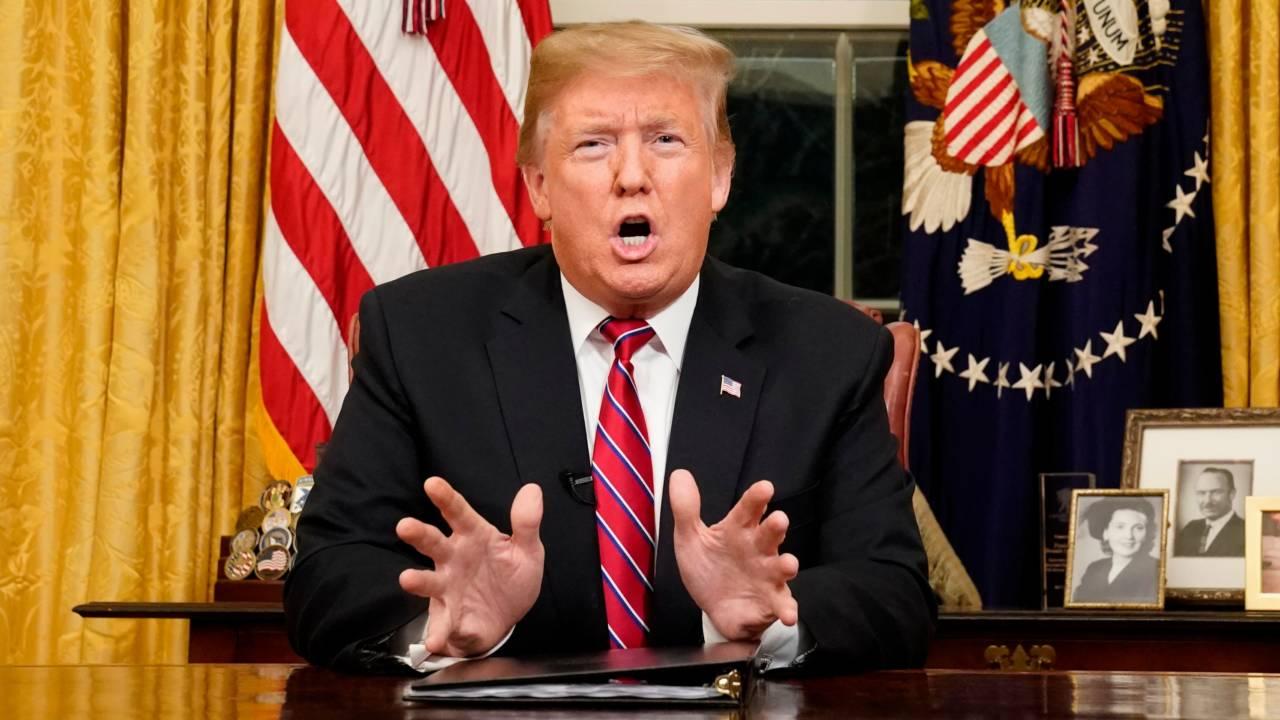 Donald Trump s-a adresat națiunii