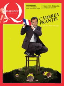 Căderea Franţei – coperta QMagazine februarie