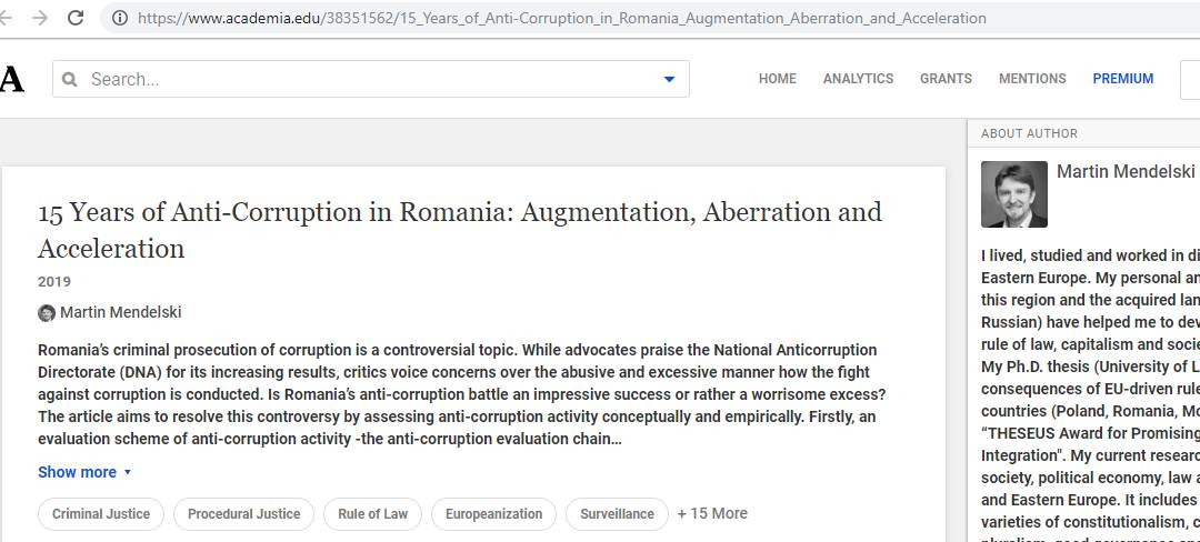 """Primul studiu științific privind """"lupta anticorupție"""" din România. Cifrele care spulberă mitul-2-QMagazine"""